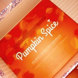 Voesh Pumpkin spice pedicure kit